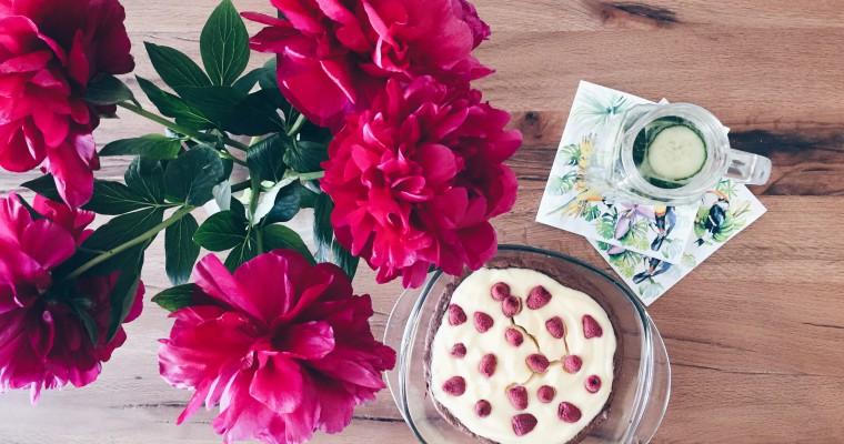 Perfekt zum Muttertag: Himbeer-Cheescake-Brownies