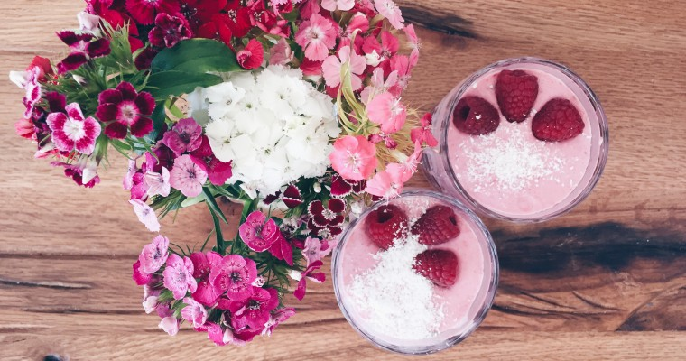 Lifestyle Himbeer-Chia-Smoothie