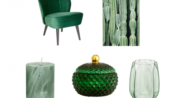 Trend Greenery: 5 Favourites