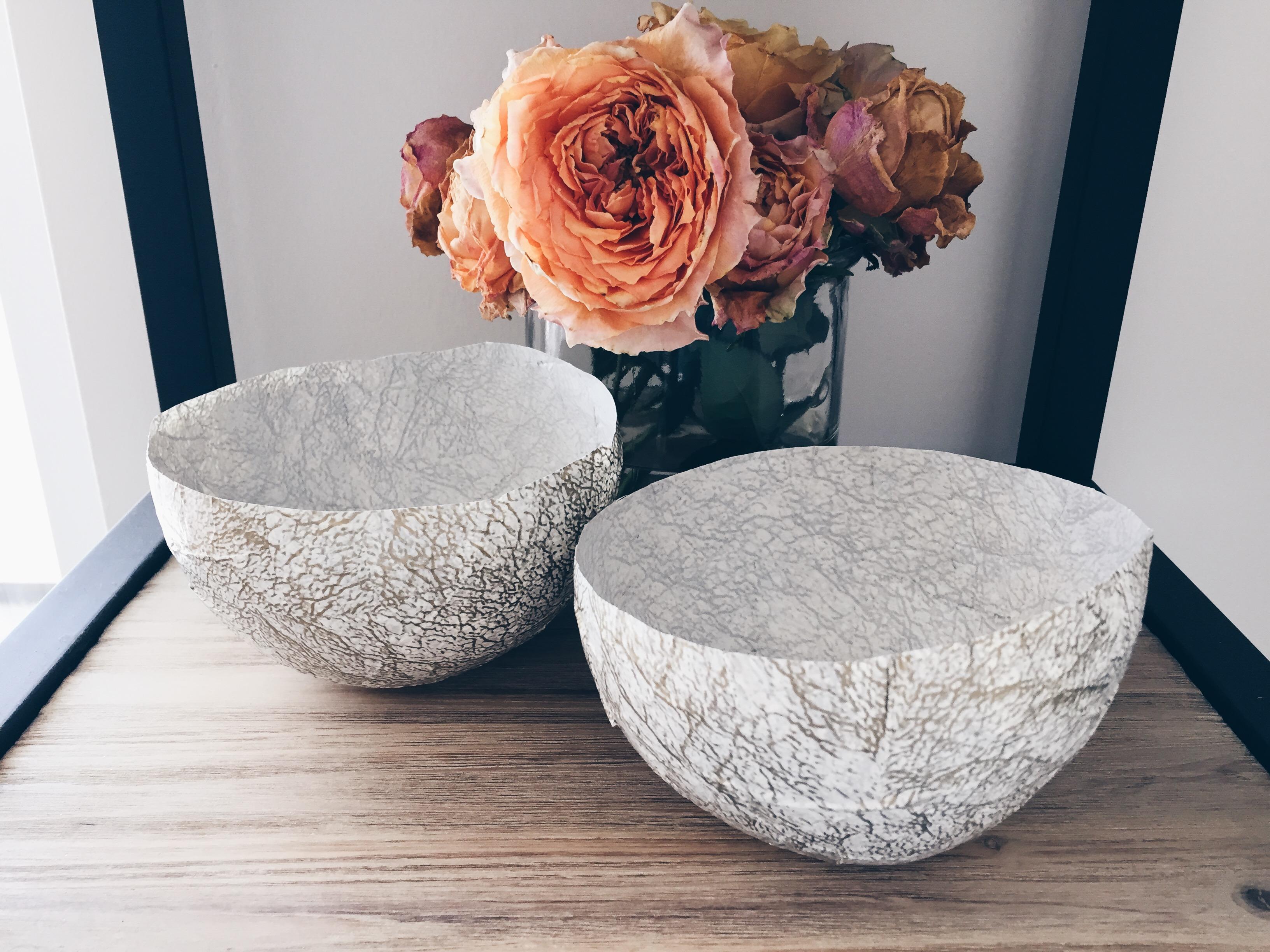 DIY Windlichter – Marmor Inspired