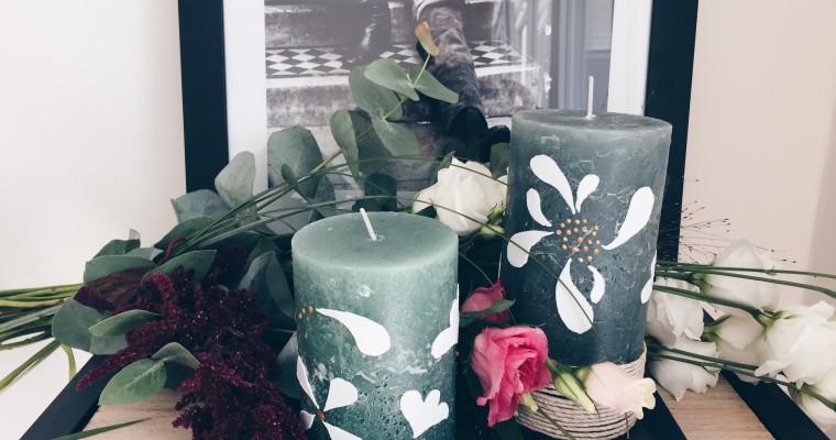 DIY Kerzen dekorieren & verzieren